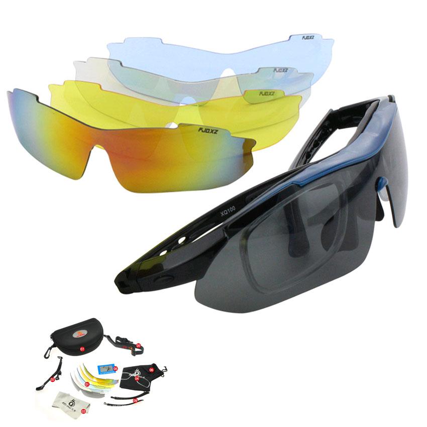 87c0368ca9 Get Quotations · Women Outdoor Sports sunglasses bike with Prescription Polarized  Glasses fishing glasses five lenses sports sunglasses