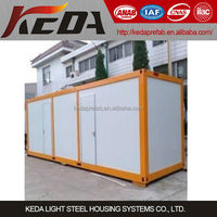 Steel Structural Sandwich Panel Living Container Home for Sale,Container Office,Container store