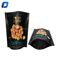 food grade moisture barrier snack potato chips popcorn zipper packaging bag with custom logo design printing