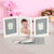 Baby Frame footprint Photo Frame New Baby Hand Print Cast Set Kit Christening Gift