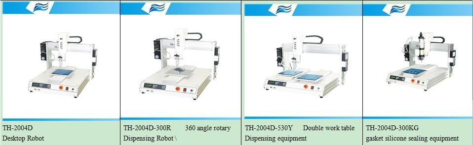 3 axis industrial desktop robot arm TH-206H