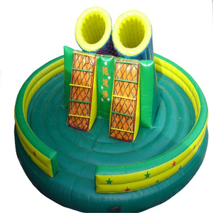 Children Playground Slide Used Commercial Round Inflatable Castle Jumping Bouncer For Sale
