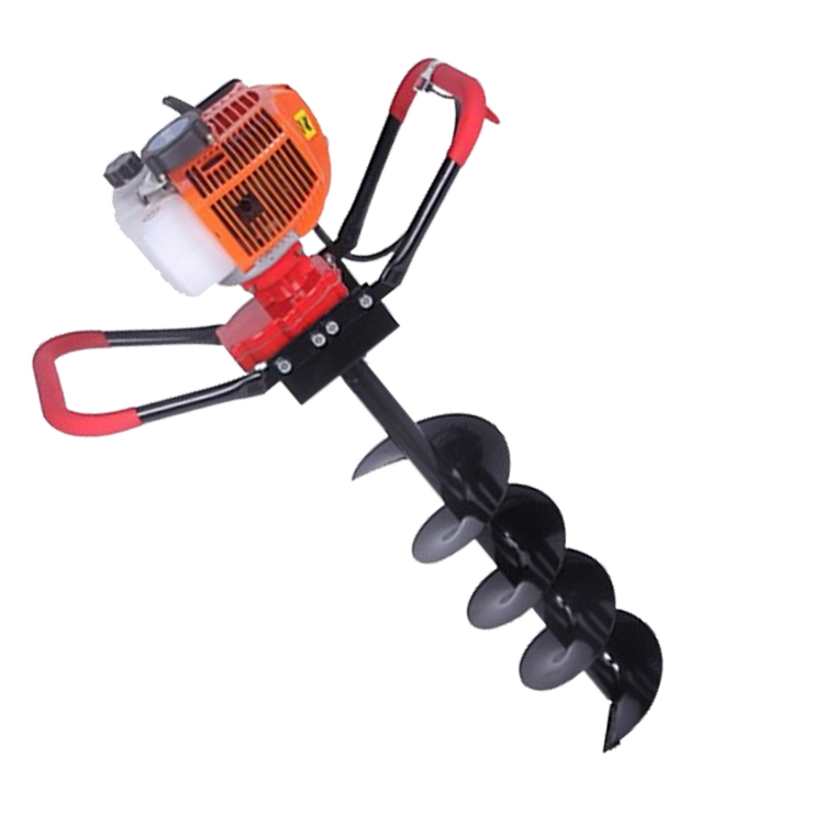 Hot sales 52cc 2-stroke gasoline engine ground hole drill earth auger