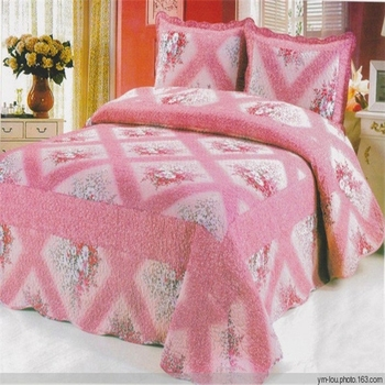 Popular 100% Cotton Washed Teenage Bedspreads Sheep Wool Quilt