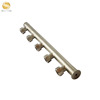 "2"" 3"" inch home heating system brass copper manual floor heating manifolds"