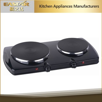 Kitchen Applience 2 Burner Electric Stove Built In Countertop Portable  Electric Hot Plate For Sale