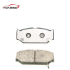 Hot sale Noise Free Semi Metallic Automobile front brake pad