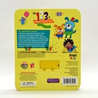 L good quality 0-12years old Animals Children talking voice book printing with sponge cover