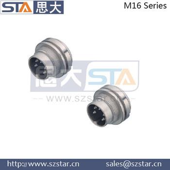 M16 Binder 423 723 425 Series Socket 2pin 09 0103 09 02 Waterproof ...