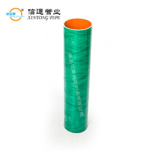 wholesale new best flexible fiber glass reinforced composite plastic pipe