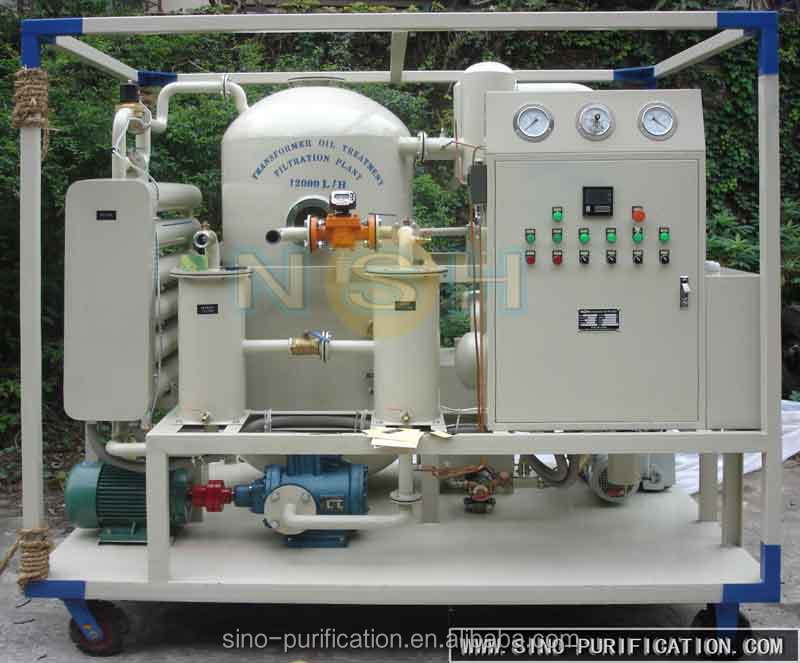Transformer Oil Dewatering And Degassing Equipment