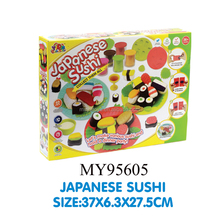 Promotional play dough toy mould play dough toys colored cookie dough