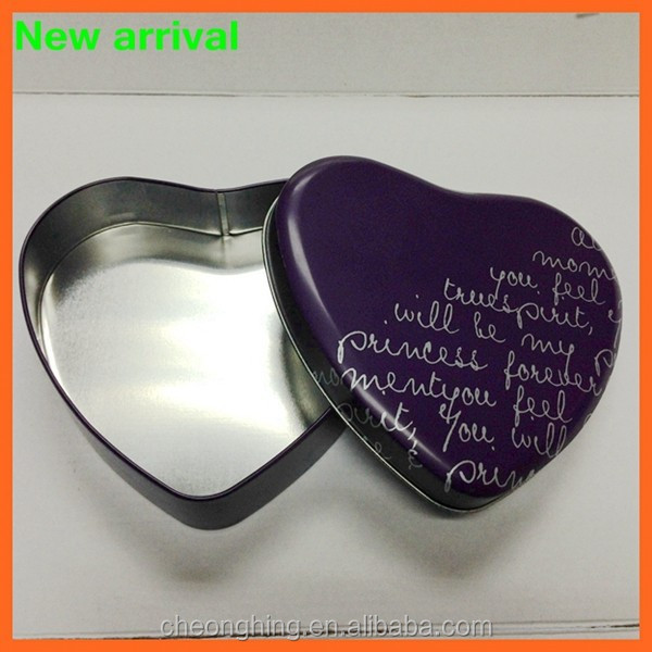 custom heart shape music chocolate box