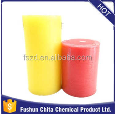 Wholesale flameless candles pillar personalized real flame candles