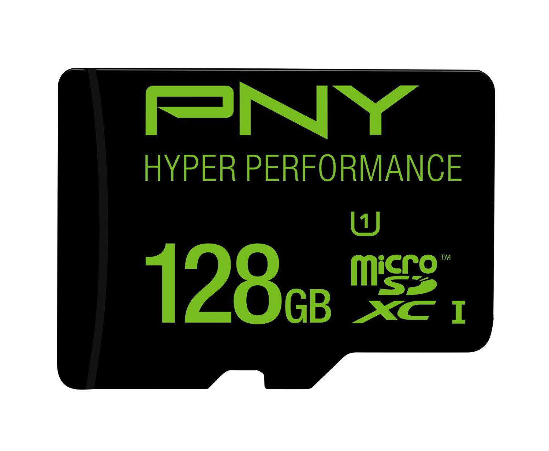 PNY 128GB High Speed MicroSDXC Memory Card (P-SDUX128U165G-GE)