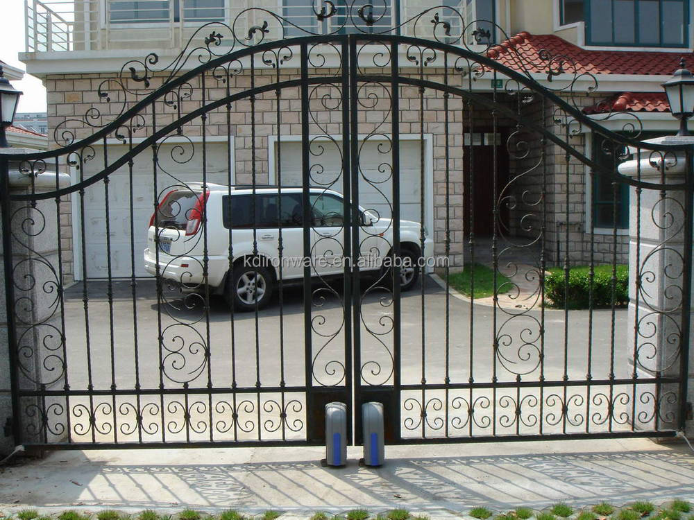 Home Or Villa Wrought Iron Gates Design Metal Gates Design View