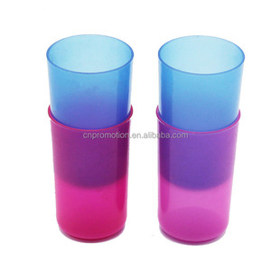 Collapsible Plastic Tooth Washing Cup for Kids