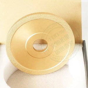 Diamond electroplated grinding disc for jade agate jewel stone