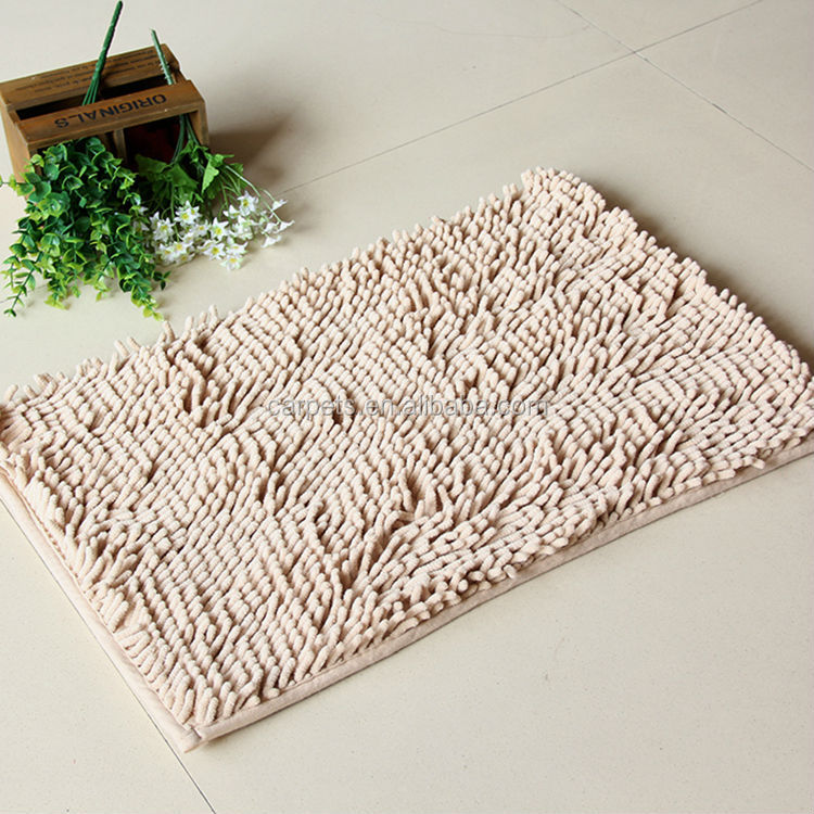 new country kitchen rugs polyester microfiber microfiber bath mat hot sale chenille large bathroom rug