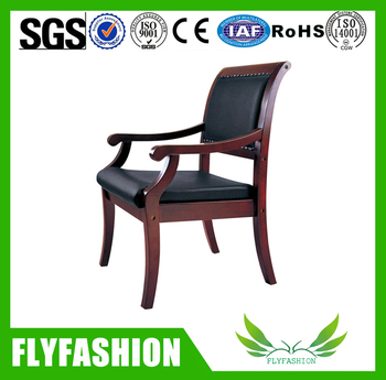 Wooden Frame High Quality Office Chairs Without Wheels  sc 1 st  Alibaba & Wooden Frame High Quality Office Chairs Without Wheels - Buy Office ...