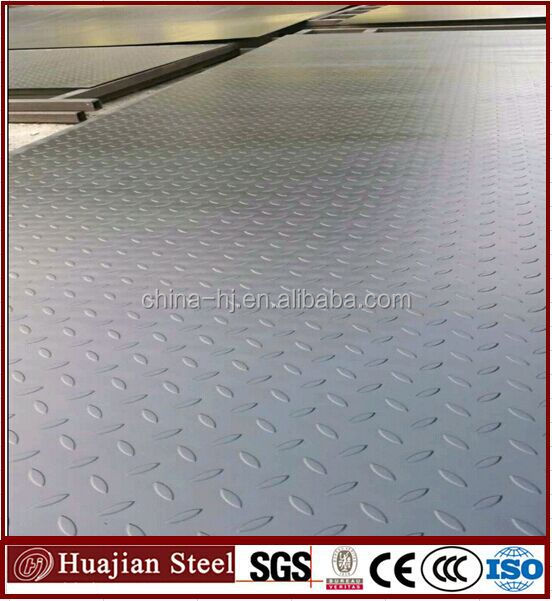 Construction Steel Plate Carbon Checkered Plate Steel For Grade ...