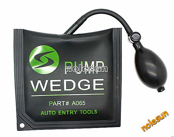 best price auto used Middle size pump wedge of Explosion-proof airbags for locksmith tools for cars for sale in 2014