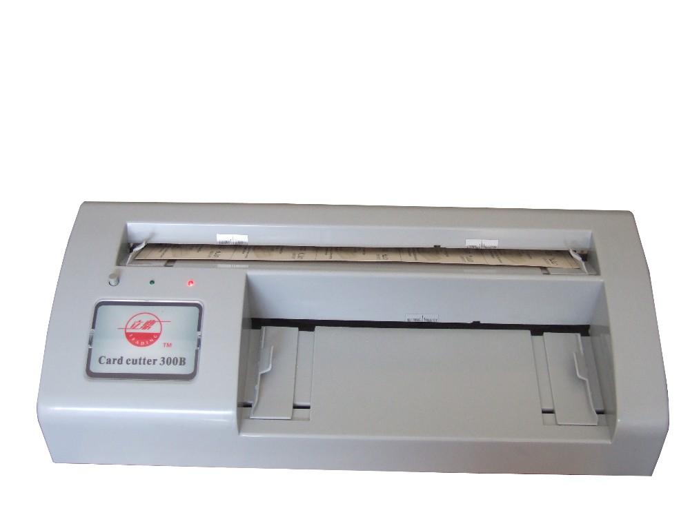 B300 Electric Business Card Cutter Name Card Cutting Machine Price ...