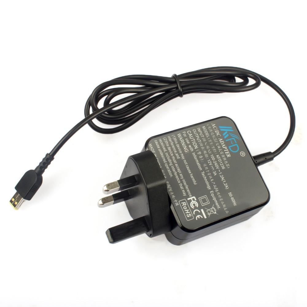 Us Eu Uk Plug 12 Volt 3amp Portable Charger For Lenovo Thinkpad Tablet 10 Helix 2