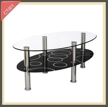 Rotating Glass Glass Coffee Table Ct001 Buy Glass Coffee Table Coffee Table Rotating Glass