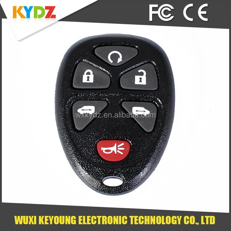 2005-2007 KOBGT04A 15114376 6 button cheap remote key management for Buick /Terraza