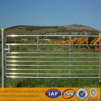 farm fence gate. Galvanized Steel Farm Fence Gate /galvanized Cattle Panel Export To Australia /New