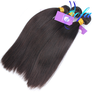 cheap straight hair weave is combed, 100% virgin brazilian stw straight human hair weft extension unprocessed bundle