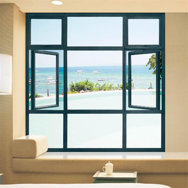 Aluminum window glass and price plate glass window price for Window for homes prices