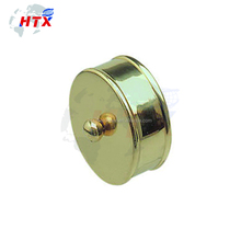 Small size cuprum stainless end cap part for motorcycle