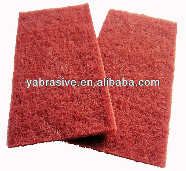 abrasive scouring pad in roll ,nylon scouring pad