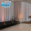 Hotsale 2019 Christmas Customized White Wedding Wall Backdrop Curtains