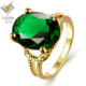 Green single stone ring designs,rings jewelry women in gold jewelry