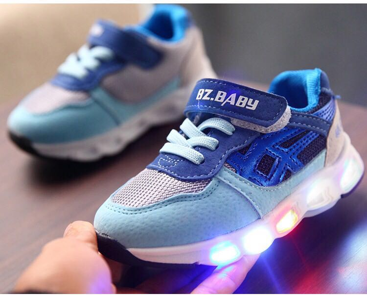 New Coming Led Shoes Kids EVA Outsole Sports Shoes led light shoes Manufacturer