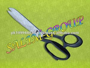 "Tailor Tailoring Sewing Heavy Duty Scissors 8"" BLACK"