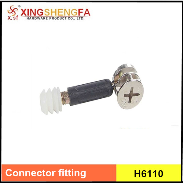3 in 1 screws furniture connector with zinc alloy cam mini fitting