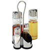 Special Promotion Gift For Large Kitchenware Selling Glass Cruet Bottle Condiment Sets