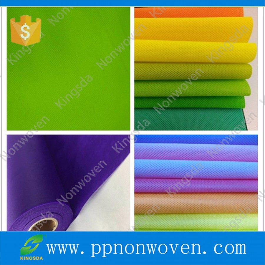 Recycled PP spunbond nonwoven textile, Good quality breathable spunbonded polypropylene non woven fabric made in China