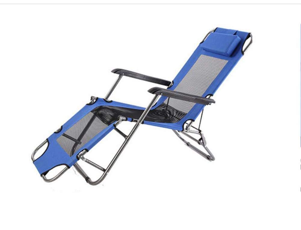 Onfly Outdoor Folding Sun Loungers,Portable Collapsible Camping Backrest Chairs,Single Folding Bed,Office Lunch Break Napping Chair With Pillow For Sports Party Outdoors Beach Moon Chairs