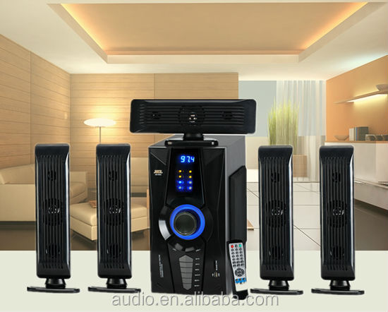 African best 5.1 speakers home theater systems with multi-function digital player