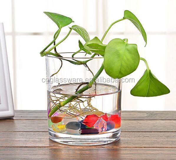 Claro al por mayor de alta calidad florero de cristal for Decoracion hogar al por mayor