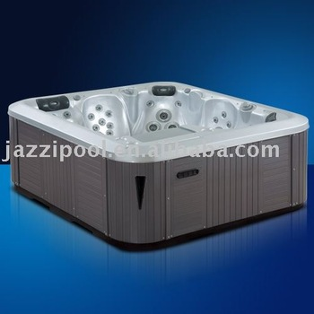 JAZZI Hot Luxury outdoor Wooden skirt tub spa for 5 Persons SKT338A1