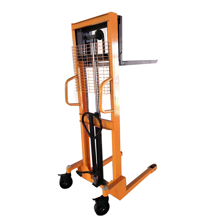 Automatic pallet truck rubbermaid fg758088yel