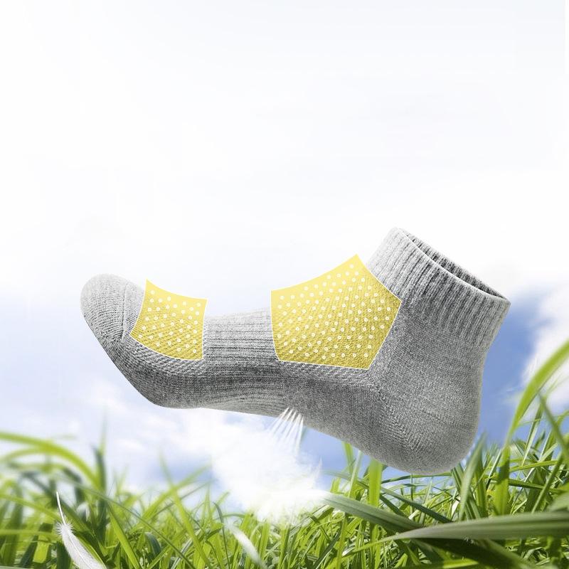 194bdc5be3bf5 Haute Qualité Respirant Chaussettes Hommes Meilleur Pas Montrer Chaussettes  de Sport 100% Coton Chaussettes