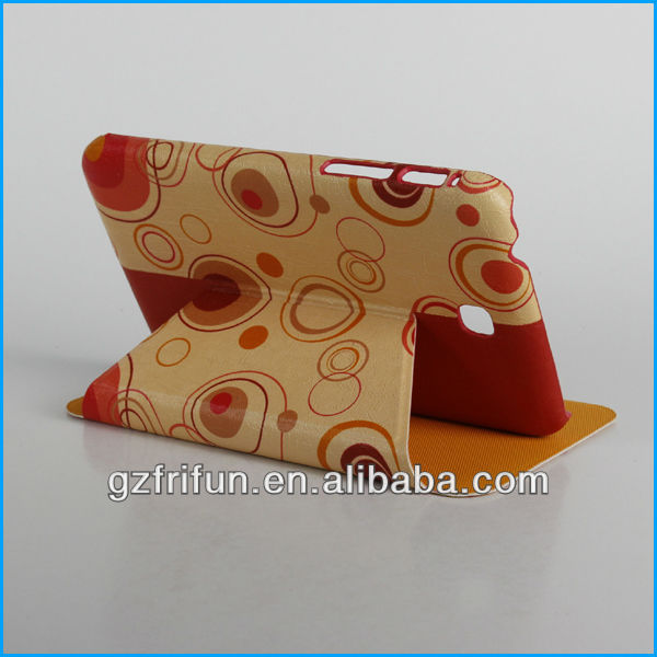 red dimple print 7 for galaxy tab case from frifun