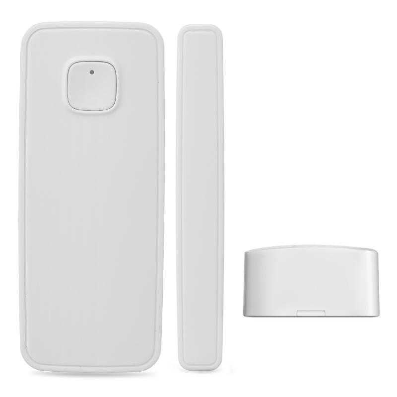 Sensor de alarma de seguridad inalámbrico remoto Tuya WiFi para ventana/puerta, Sensor Compatible con Goggle Home/Alexa/IFTTT con aplicación Smart Life